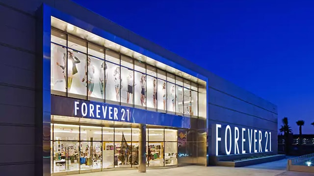 Forever 21 closing down non-performing stores