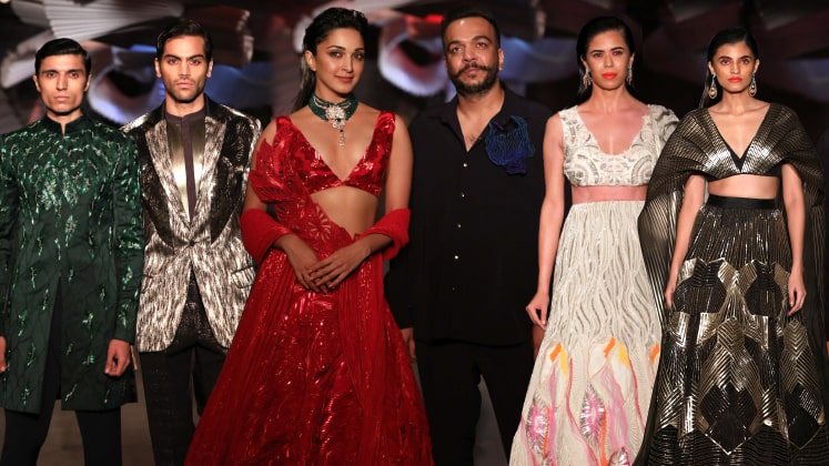 Amit Aggarwal opens India Couture Week 2019 – Collection Review