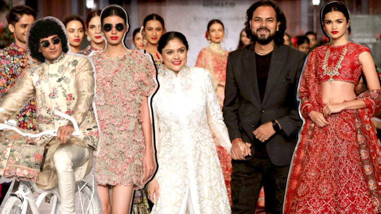 Rahul Mishra for FDCI India Couture Week 2019