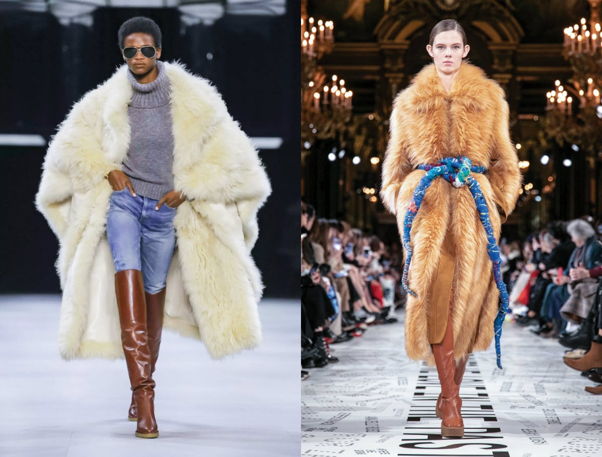 Cruelty fashion is promoting faux fur